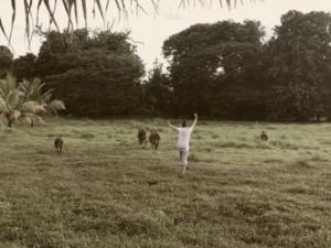 Vivian in Field Fiji