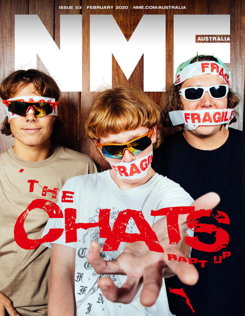 "alt=""The Chats interview with NME cover"""