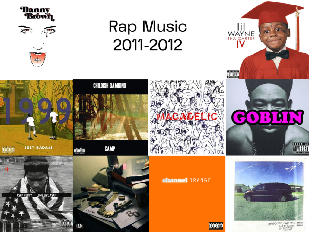 rap music from 2011 and 2012