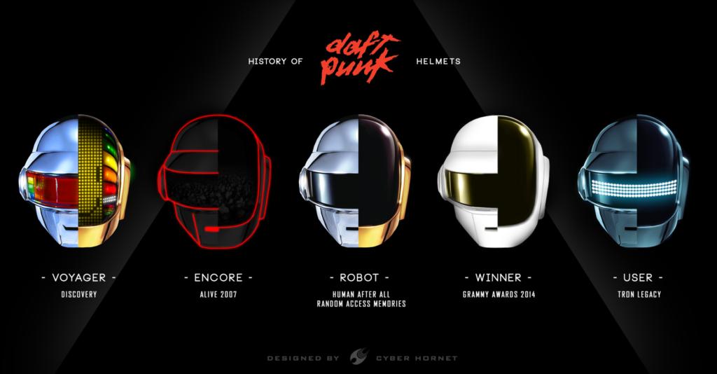 "Alt=""Daft Punk Helmet History"""
