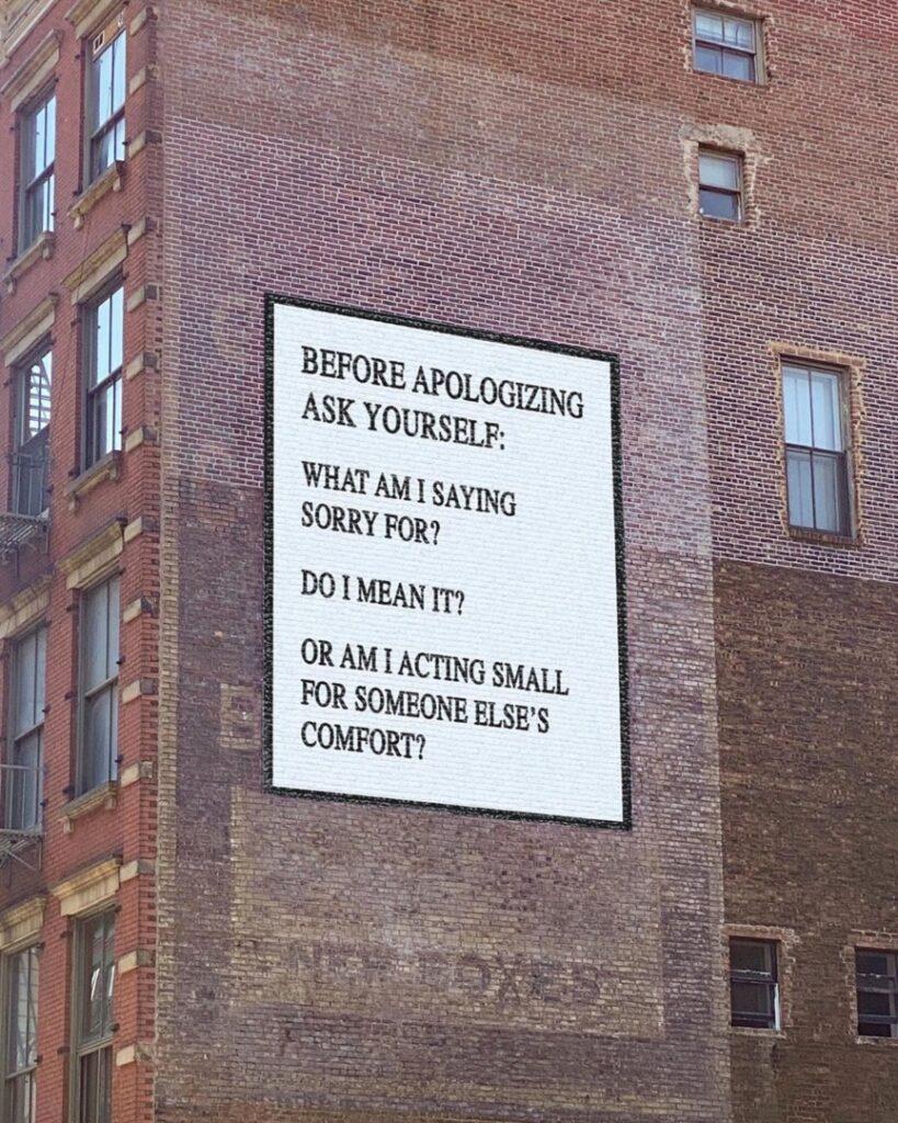 """Alt=""""Apology wall art"""""""